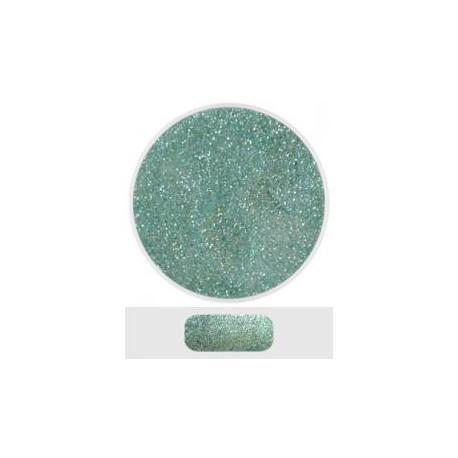 Glitterový akryl pudr 5 ml č.7 - ledově zelený