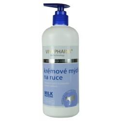 VIVAPHARM Kozí krémové mýdlo na ruce
