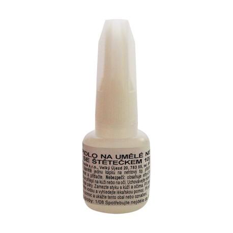 Lepidlo na umělé nehty se štětečkem 10g