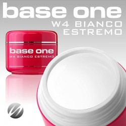SILCARE UV gel Base One - Bianco Estremo 15 ml