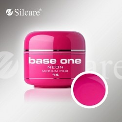 UV gel Base One NEON gel 5 ml - 14 Medium Pink