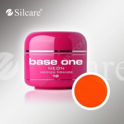 UV gel Base One NEON gel 5 ml - 10 Medium Orange