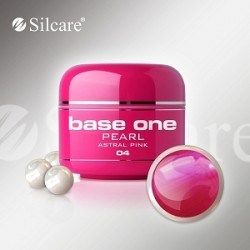 SILCARE UV gel Base One Pearl 5 ml - 04 Astral Pink