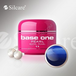 SILCARE UV gel Base One Pearl 5 ml - 11 Royal Pearl