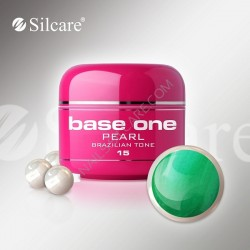 SILCARE UV gel Base One Pearl 5 ml - 15 Brazilian Tone