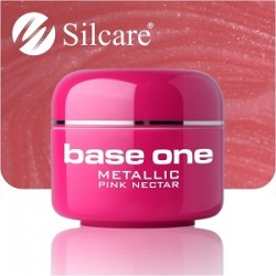 SILCARE UV gel Base One Metallic 5 ml - 29 Pink Nectar