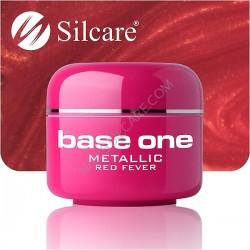 SILCARE UV gel Base One Metallic 5 ml - 33 Red Fever