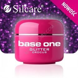 SILCARE UV gel Base One Glitter 5 ml - 29 Crocus