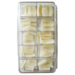 Nehtové tipy rovné BOX 250 ks
