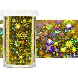 TRANSFER FOIL - nailartová dekorační folie 2m