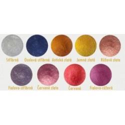 Pigment leštící na nehty Chrom efekt 1ks – Jemný fialovo/stříbrný