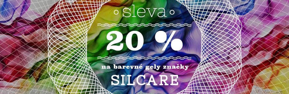 20% sleva Silcare