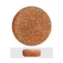 Glitterový akryl pudr 5 ml č.2 - měděný