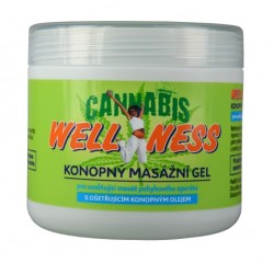 Masážní gel Wellness CannaCare