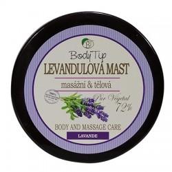 Masážní a tělová mast s levandulovým olejem BODY TIP