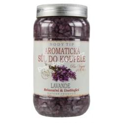 Aromatická sůl do koupele Levandule 1200g