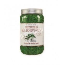 Aromatická sůl do koupele Cannabis 1200g