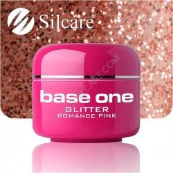 UV gel Base One Glitter 5 ml - Romance Pink