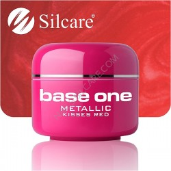 UV gel Base One Metallic 5 ml - Kisses Red
