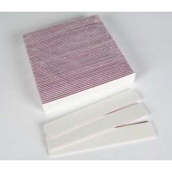 Bílý pilník rovný široký hrubost 100/180