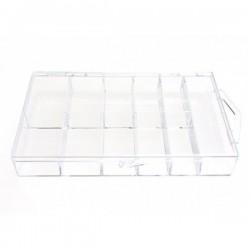 Organizér, krabička na tipy - pro 100ks