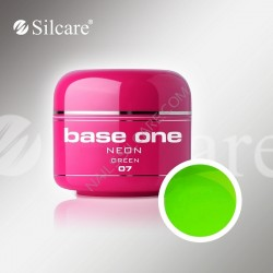UV gel Base One NEON gel 5 ml - 07 Green