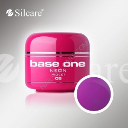 UV gel Base One NEON gel 5 ml - 05 Violet
