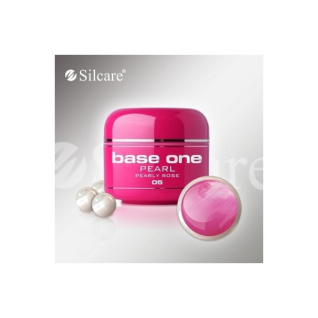 SILCARE UV gel Base One Pearl 5 ml - 05 Pearly Rose