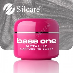 SILCARE UV gel Base One Metallic 5 ml - 37 Cappuccino Sweet