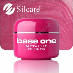 SILCARE UV gel Base One Metallic 5 ml - 34 Pinkei Pie