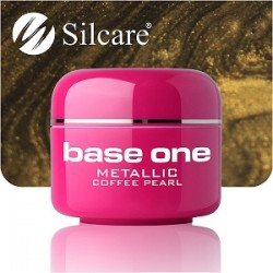SILCARE UV gel Base One Metallic 5 ml - 41 Coffe Pearl