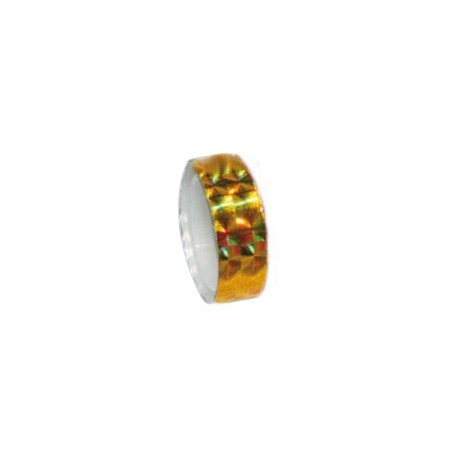 Páska lepící hologram - zlatá_12mm x 2000mm