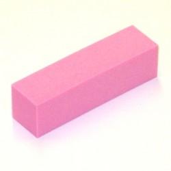 Leštící blok BASIC - jemný - růžový