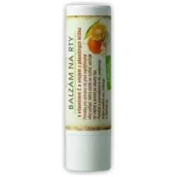 Balzám na rty s vitamínem E a olejem z pšeničných klíčků