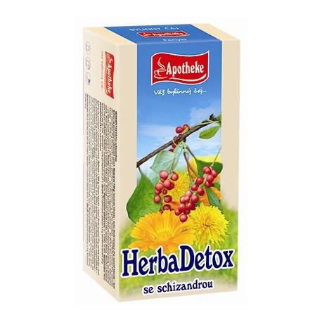 Apotheke HerbaDetox se schizandrou čaj 20x1,5g