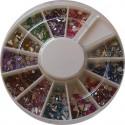 Barevné kamínky v karuselu - mix tvarů a barev